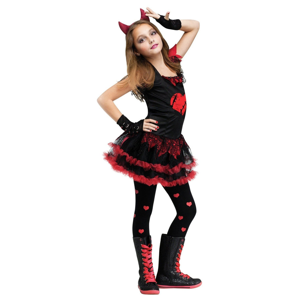 Devil Diva Girl's Costume