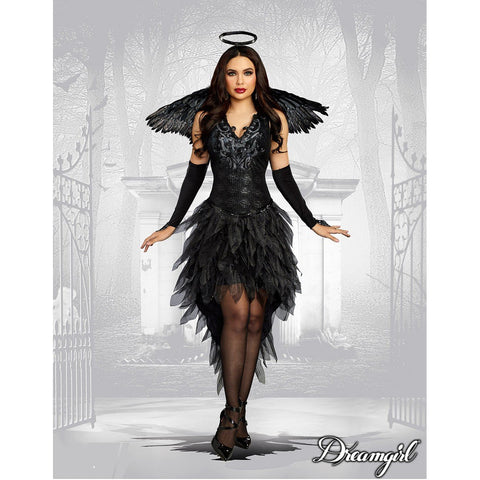 Off With Her Head Adult Women/'s Costume Strapless Fairy Tale Dress Forplay