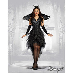 Angel of Darkness Women's Costume