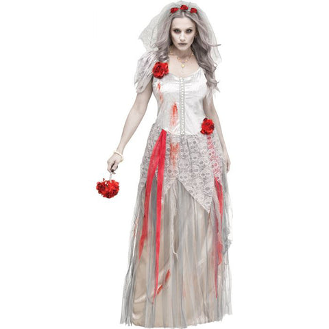 Zombie Bride Women's Costume