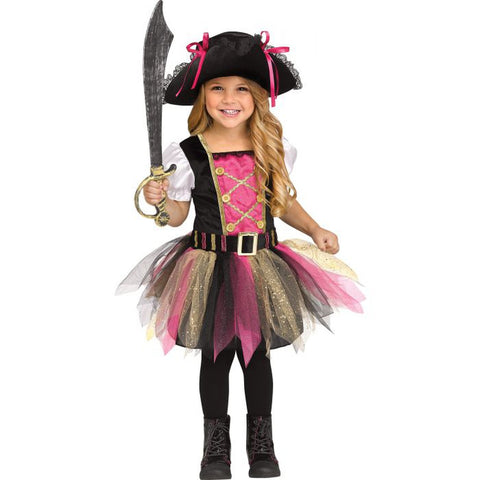Captain Cutie Toddler Girl's Costume