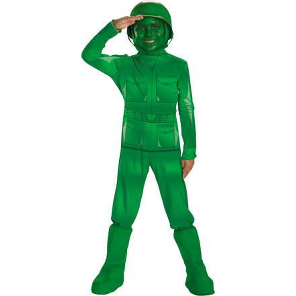 Green Army Man Deluxe Toddler Costume