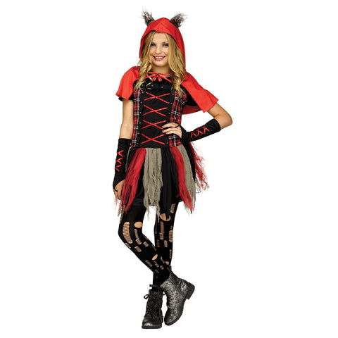 Little Red Wolf Teen Girl's Costume
