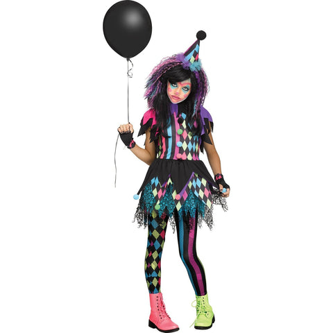 Twisted Circus Girl's Costume