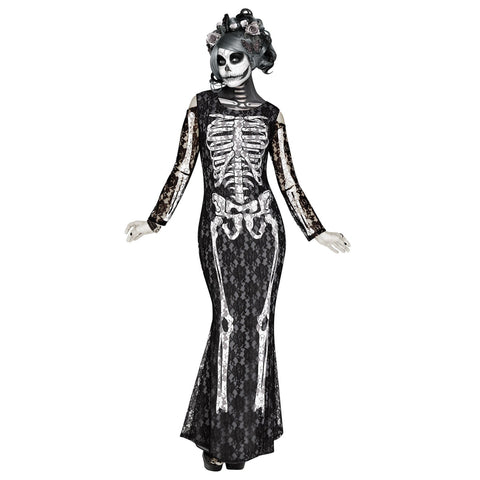 Lacy Bones Women's Costume