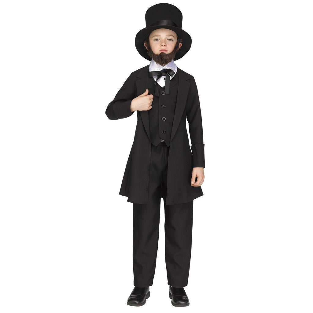 Abe Lincoln Boy's Costume