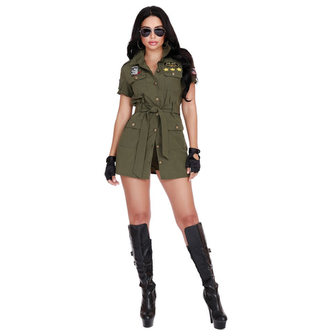 Fighter Pilot Women's Costume