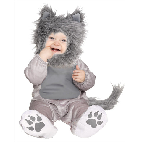 Lil Gray Wolf Infant Costume