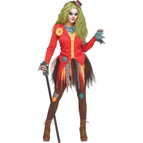Rowdy The Clown Women's Costume