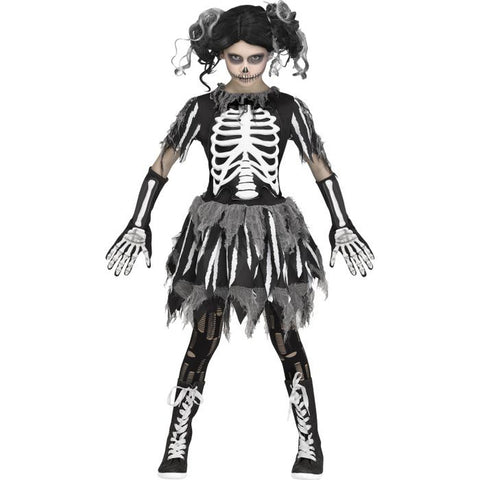 Skary Skelee Girl's Costume