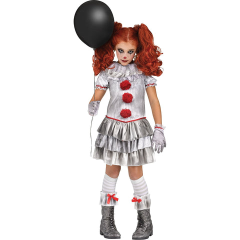 Carnevil Clown Girl's Costume