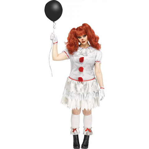 Carnevil Clown Plus Women's Costume