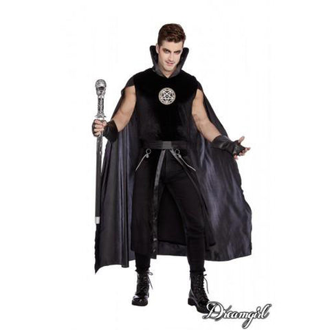 Prince of Darkness Plus Men's Costume