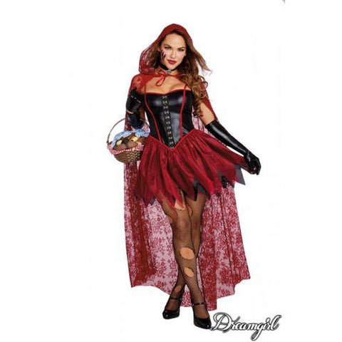 Big Bad Red Riding Hood Sexy Costume