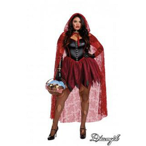 Big Bad Red Riding Hood Plus Size Costume