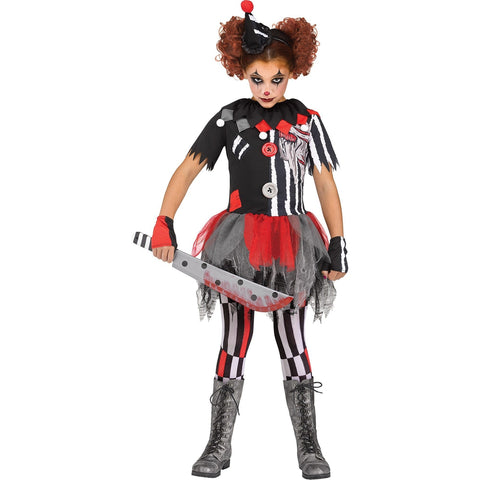 Sinister Circus Teen Girl's Costume