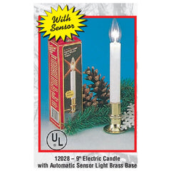 "9"" Electric Candle With Auto Sensor"