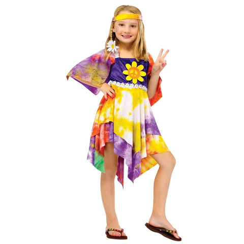 Daisy Hippie Girl's Costume