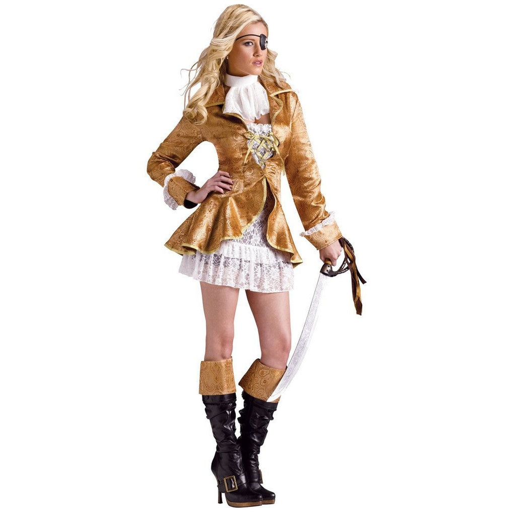 Treasure Chest Pirate Women's Costume
