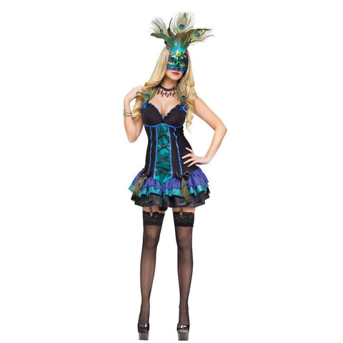 Midnight Peacock Women's Costume