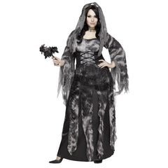 Cemetery Bride Plus Women's Costume