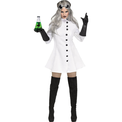 Female Mad Scientist Women's Costume