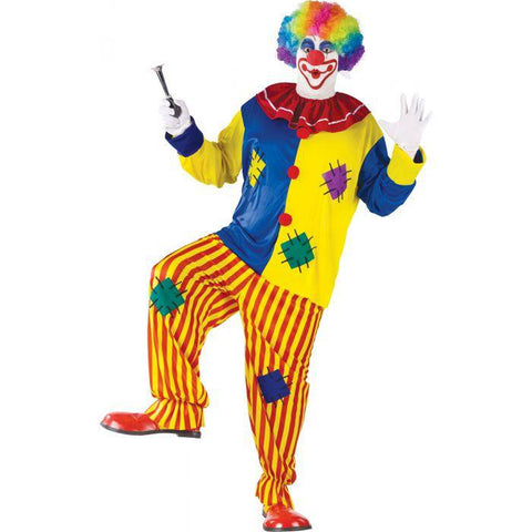 Big Top Clown Plus Men's Costume
