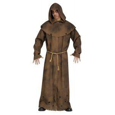 Brown Tattered Robe Men's Costume