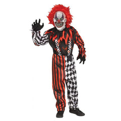 Freakshow Clown Boy's Costume