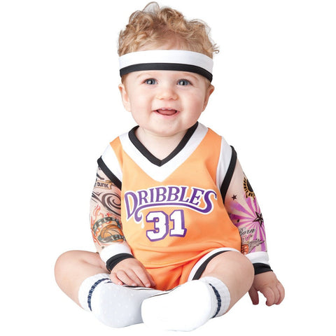 Double Dribble Basketball Player Infant Costume