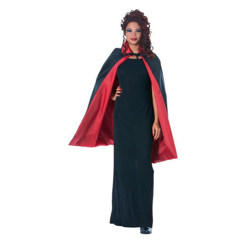 "45"" Reversible Black/Red Cape"