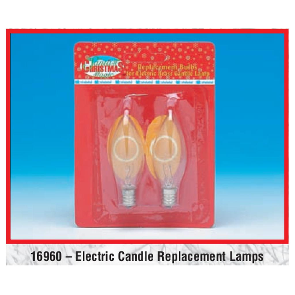 Electric Candle Replacement Bulbs - 2 Pack