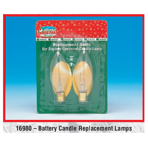 Battery Candle Replacement - 2 Pack