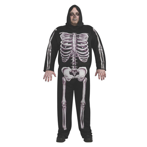 Skeleton Plus Men's Costume
