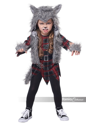 Wee-Wolf Toddler Girl Costume