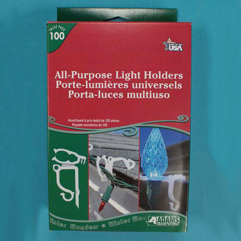 All Purpose Light Holders, 100 pack