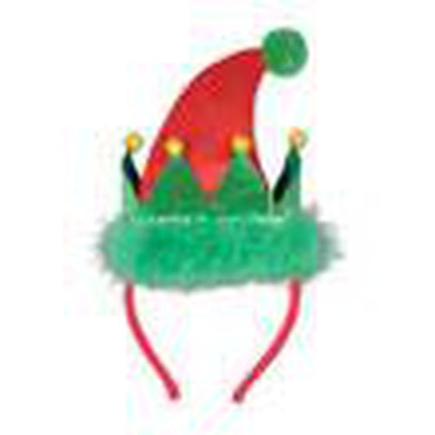 Elf Santa's Helper Headband