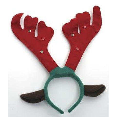 Reindeer Light-up Antlers Headband