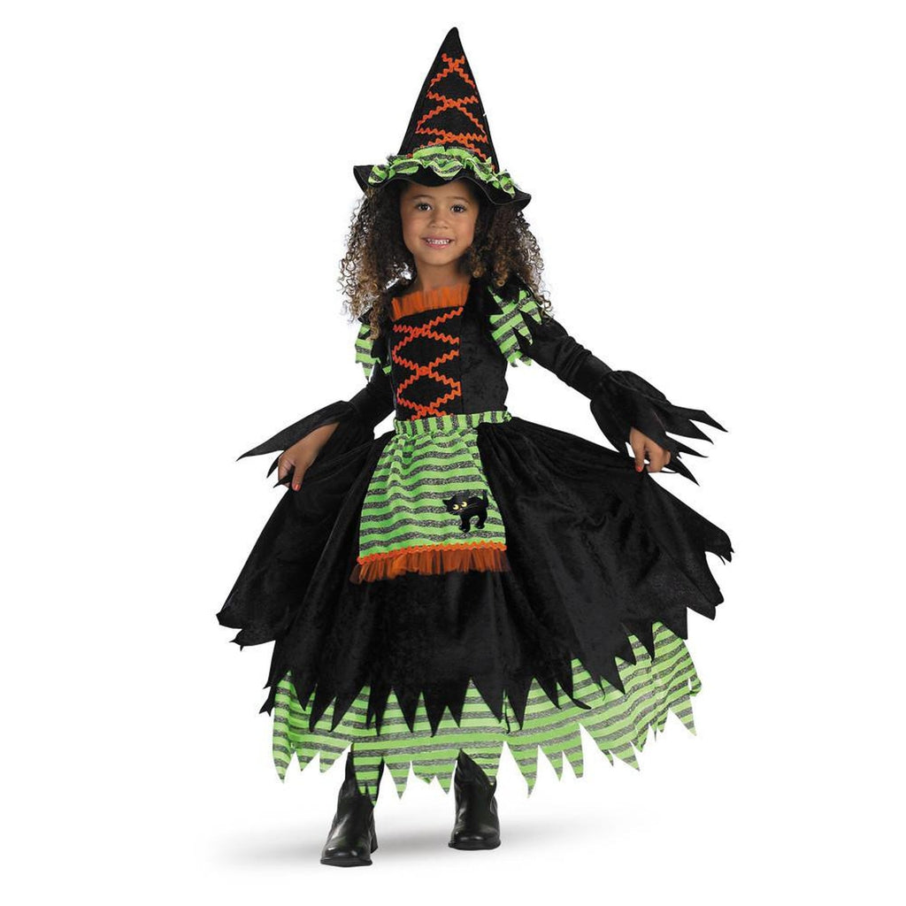 Witch-Story Book Witch Toddler Costume