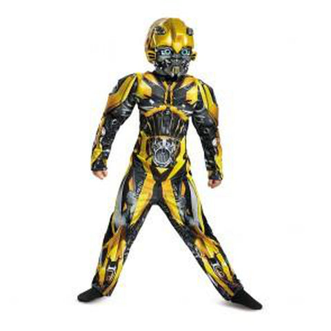Bumble Bee Classic Muscle Boys Costume