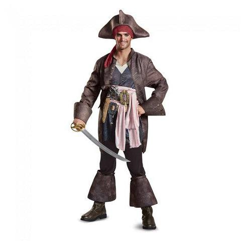 Potc5 Deluxe Captain Jack Men's Costume