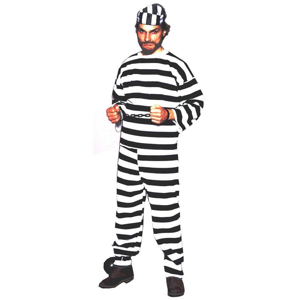 Deluxe Convict Men's Costume