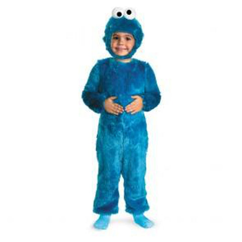 Sesame Street-Cookie Deluxe Plush Toddler Costume