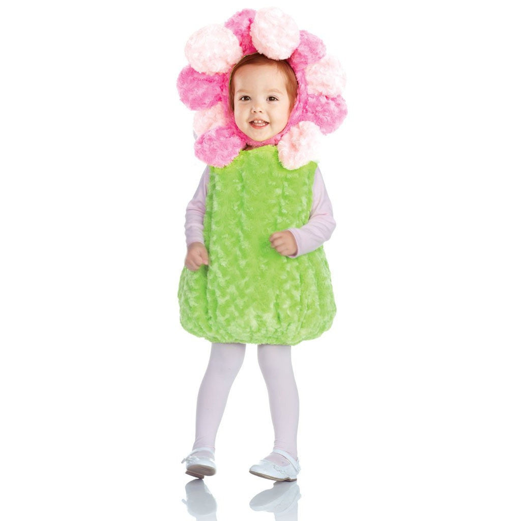 Pink Flower Toddler Costume