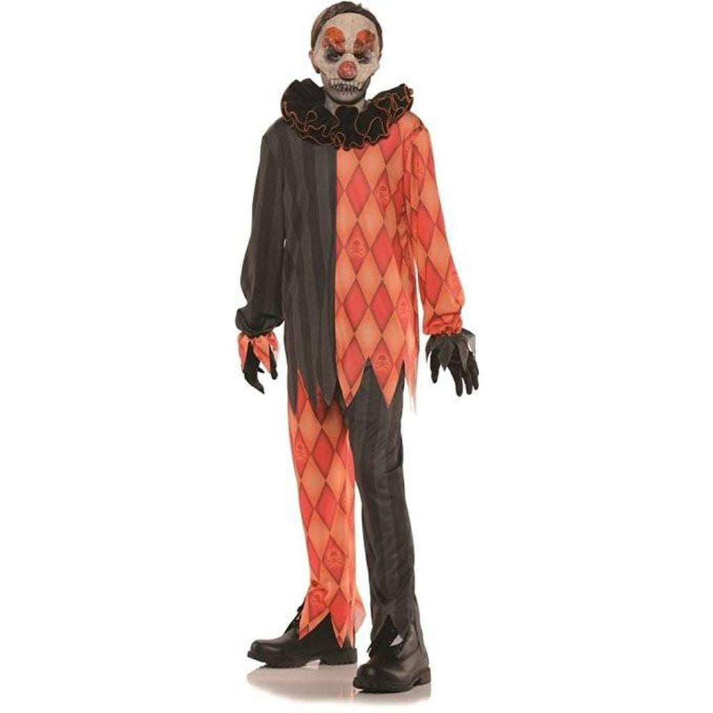 Evil Clown Boy's Costume