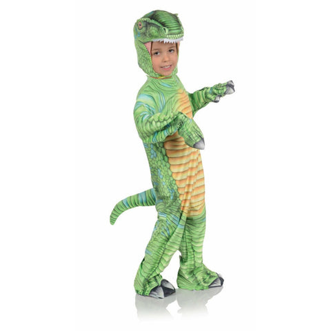 Green T-Rex Toddler Costume