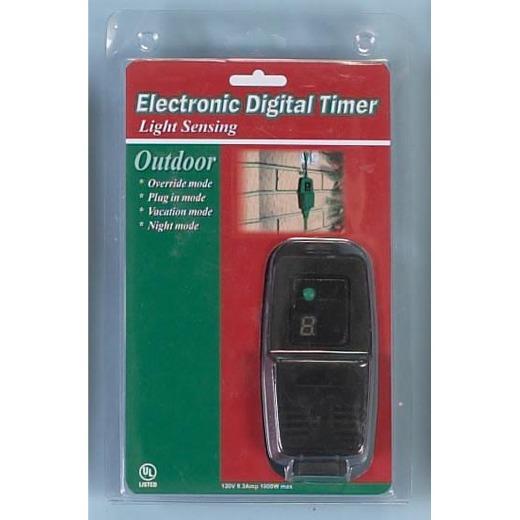 Electronic Digital Outdoor Timer