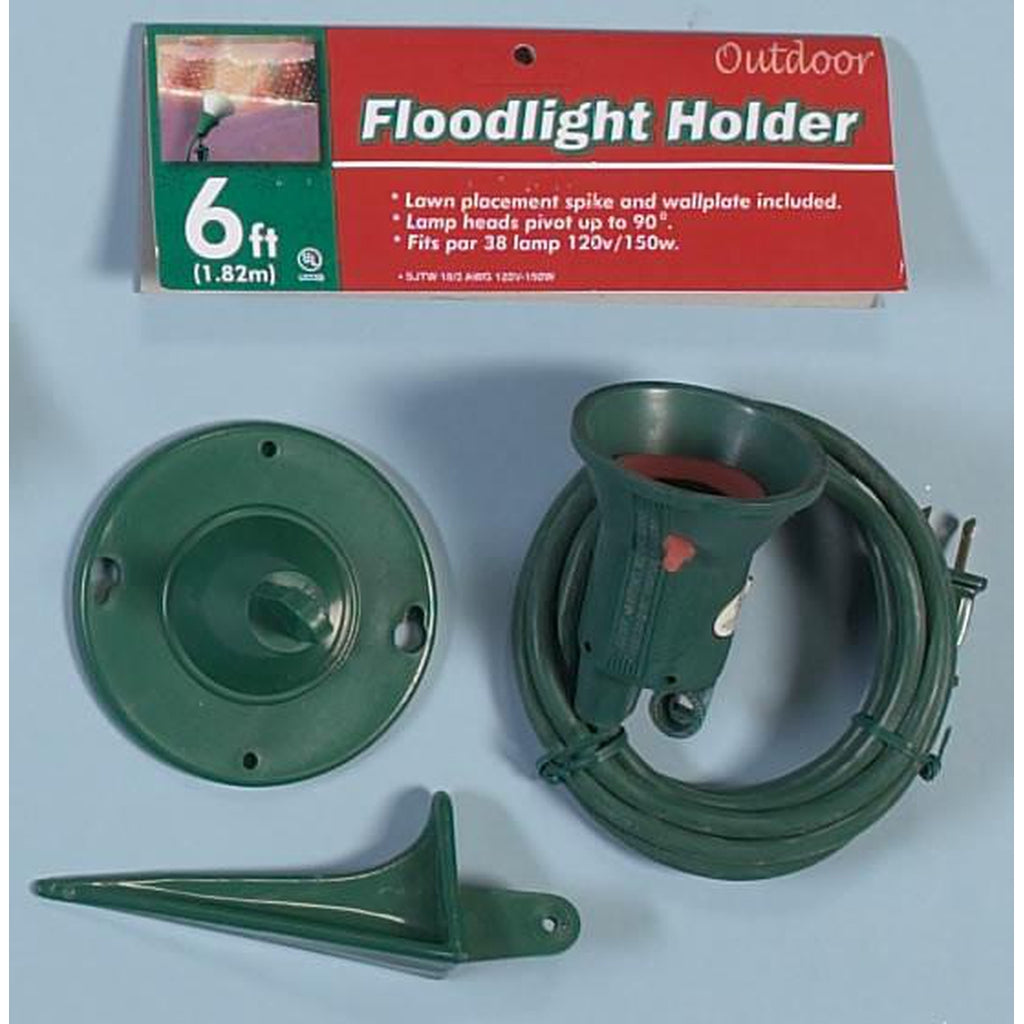 Outdoor Floodlight Holder