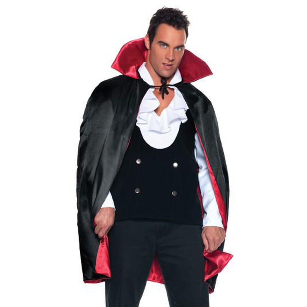 "38"" Reversible Black/Red Cape"