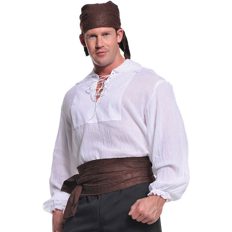 Pirate Shirt Plus Size Costume